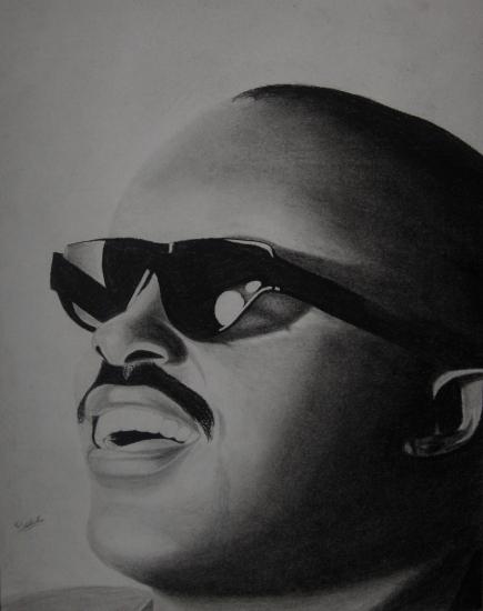 Stevie Wonder by Malik-2K10